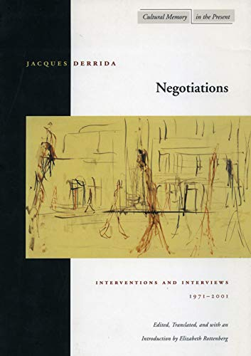 9780804738910: Negotiations: Interventions and Interviews, 1971-2001