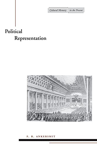 9780804739825: Political Representation (Cultural Memory in the Present Series)
