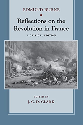 9780804742054: Reflections on the Revolution in France