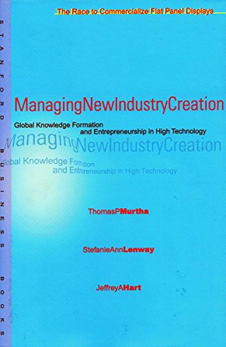 9780804742283: Managing New Industry Creation: Global Knowledge Formation and Entrepreneurship in High Technology