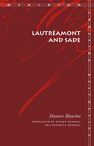 9780804742337: Lautreamont and Sade
