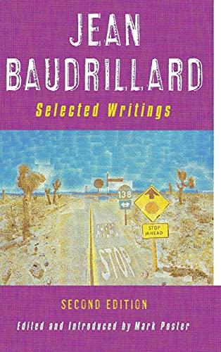 9780804742726: Jean Baudrillard: Selected Writings: Second Edition