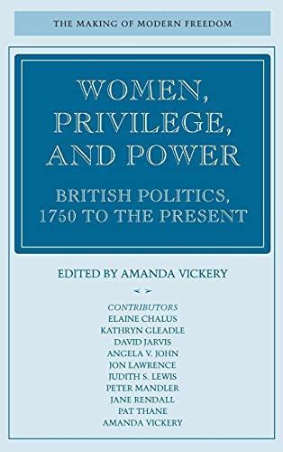 9780804742849: Women, Privilege, and Power: British Politics, 1750 to the Present