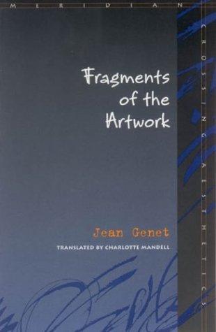 9780804742870: Fragments of the Artwork (Meridian, Crossing Aesthetics)