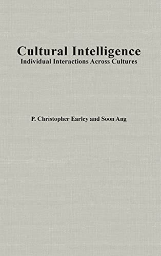 9780804743006: Cultural Intelligence: Individual Interactions Across Cultures