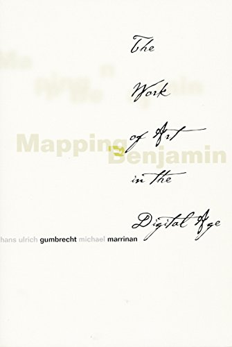9780804744355: Mapping Benjamin: The Work of Art in the Digital Age