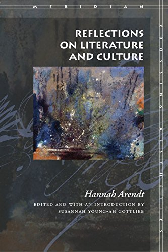 9780804744980: Reflections on Literature and Culture (Meridian: Crossing Aesthetics)