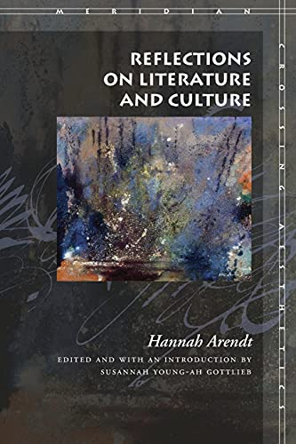 9780804744997: Reflections on Literature and Culture (Meridian: Crossing Aesthetics)