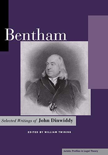 9780804745192: Bentham: Selected Writings of John Dinwiddy