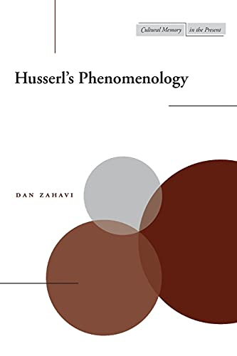 9780804745468: Husserl's Phenomenology (Cultural Memory in the Present)
