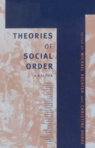 9780804746113: Theories of Social Order: A Reader