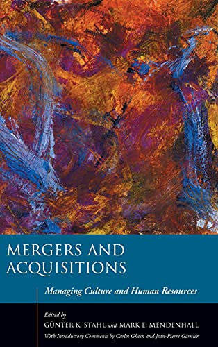 9780804746618: Mergers and Acquisitions: Managing Culture and Human Resources (Stanford Business Books)