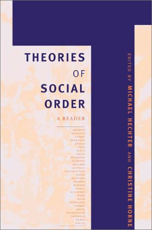 9780804746755: Theories of Social Order: A Reader