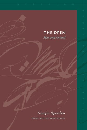 9780804747370: The Open: Man and Animal