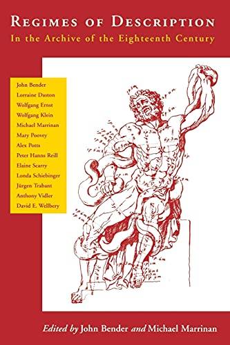 9780804747424: Regimes of Description: In the Archive of the Eighteenth Century