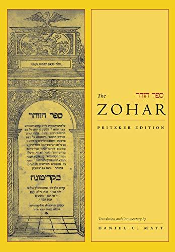 The Zohar: Pritzker Edition, Volume One (Hardcover): Daniel C. Matt