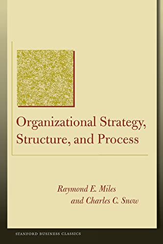 9780804748407: Organizational Strategy, Structure and Process (Stanford Business Classics)