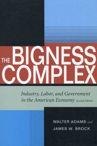 9780804749695: The Bigness Complex: Industry, Labor, and Government in the American Economy, Second Edition (Stanford Economics & Finance)