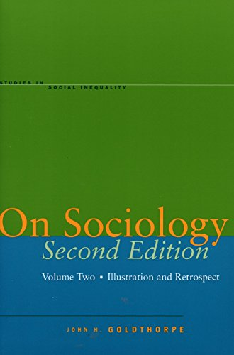9780804749992: On Sociology: Illustration And Retrospect: 2