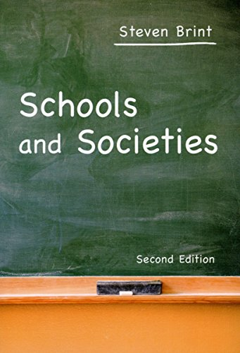 9780804750738: Schools And Societies