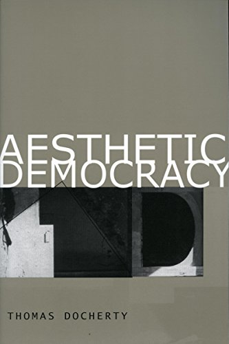 Aesthetic Democracy: Docherty, Thomas