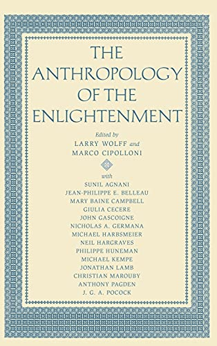 9780804752022: The Anthropology of the Enlightenment