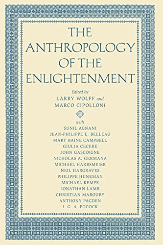 9780804752039: The Anthropology of the Enlightenment