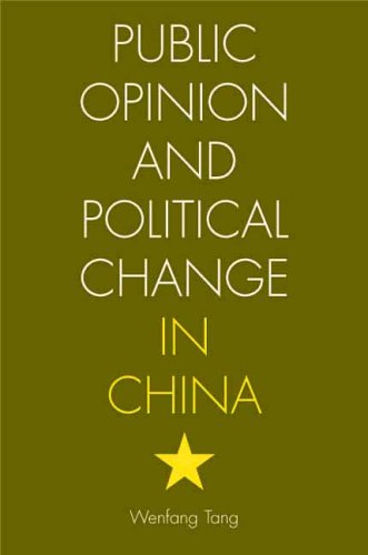 9780804752190: Public Opinion and Political Change in China