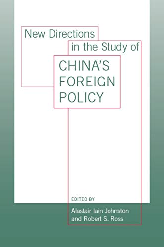 9780804753623: New Directions in the Study of China's Foreign Policy