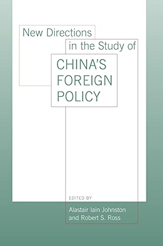 9780804753630: New Directions in the Study of China's Foreign Policy