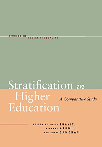 9780804754620: Stratification in Higher Education: A Comparative Study