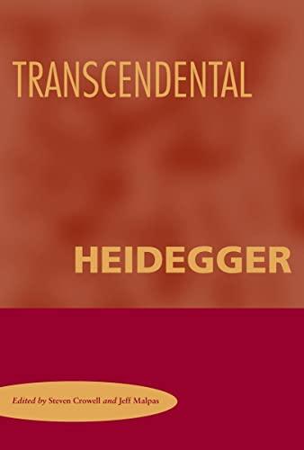 9780804755108: Transcendental Heidegger