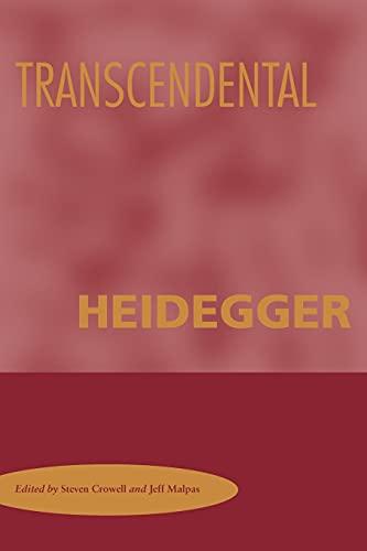 9780804755115: Transcendental Heidegger