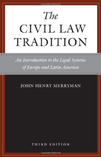 9780804755689: The Civil Law Tradition, 3rd Edition: An Introduction to the Legal Systems of Europe and Latin America