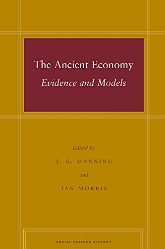 9780804757553: The Ancient Economy: Evidence and Models (Social Science History)