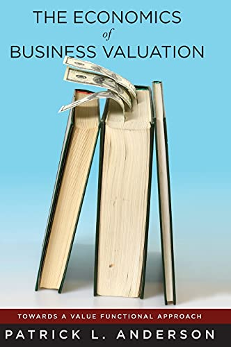 The Economics of Business Valuation: Towards a Value Functional Approach (Hardback): Patrick L. ...