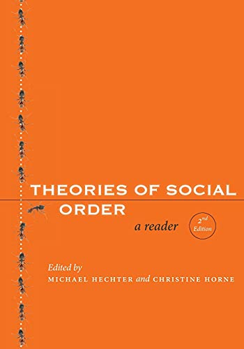 9780804758734: Theories of Social Order: A Reader (Stanford Social Sciences): A Reader, Second Edition