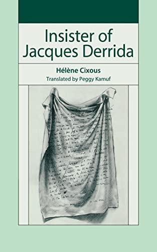 9780804759083: Insister of Jacques Derrida