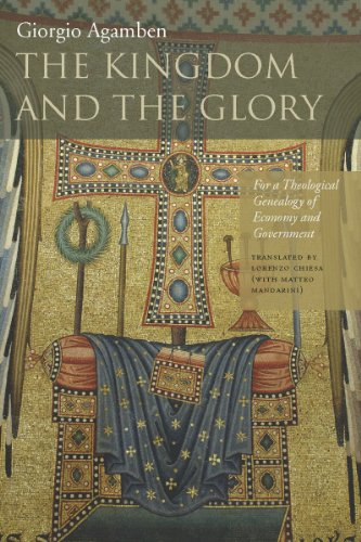 9780804760157: The Kingdom and the Glory: For a Theological Genealogy of Economy and Government (Meridian: Crossing Aesthetics)