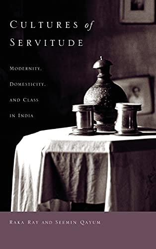 9780804760713: Cultures of Servitude: Modernity, Domesticity, and Class in India