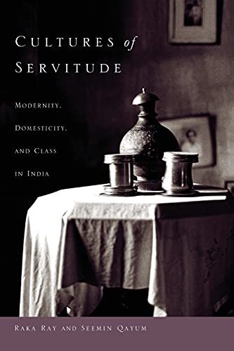 9780804760720: Cultures of Servitude: Modernity, Domesticity, and Class in India