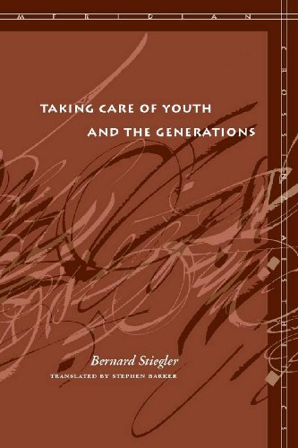 9780804762724: Taking Care of Youth and the Generations (Meridian: Crossing Aesthetics)