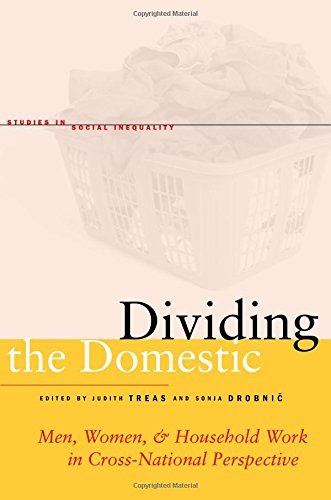 9780804763578: Dividing the Domestic: Men, Women, and Household Work in Cross-National Perspective (Studies in Social Inequality)