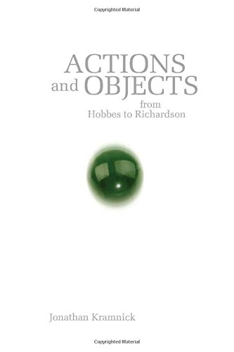 Actions and Objects from Hobbes to Richardson: Kramnick, Jonathan