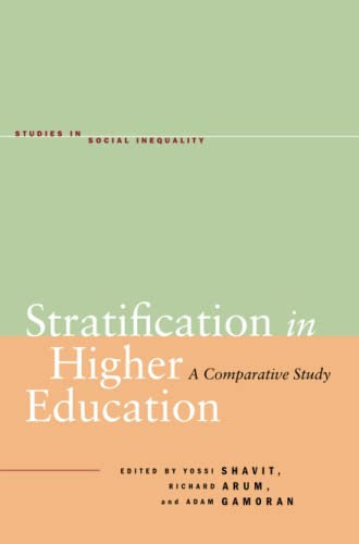 9780804771528: Stratification in Higher Education: A Comparative Study (Studies in Social Inequality)