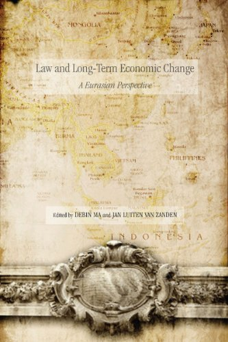 Law and Long-Term Economic Change: A Eurasian Perspective (Hardback)