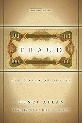 9780804777100: Fraud: The World of Ona'ah (Cultural Memory in the Present)