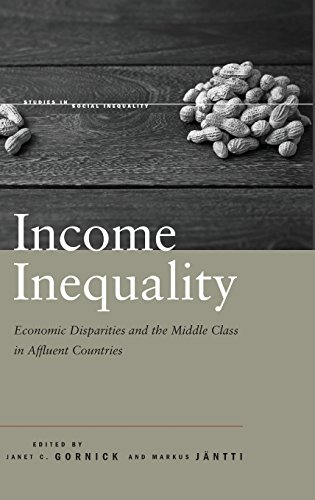 9780804778244: Income Inequality: Economic Disparities and the Middle Class in Affluent Countries (Studies in Social Inequality)