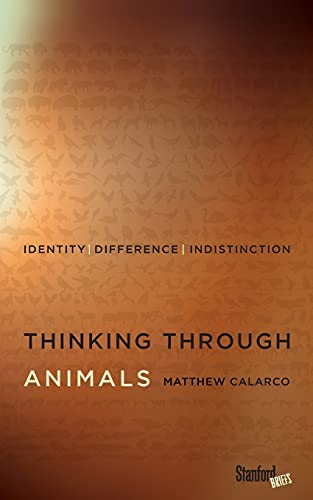9780804794046: Thinking Through Animals: Identity, Difference, Indistinction