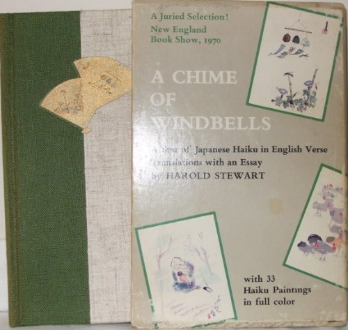 The Chime of Windbells: A Year of Japanese Haiku in English Verse [inscribed]